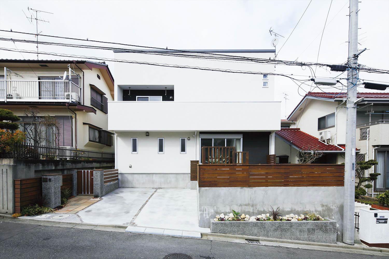 さまざまな庭のある家
