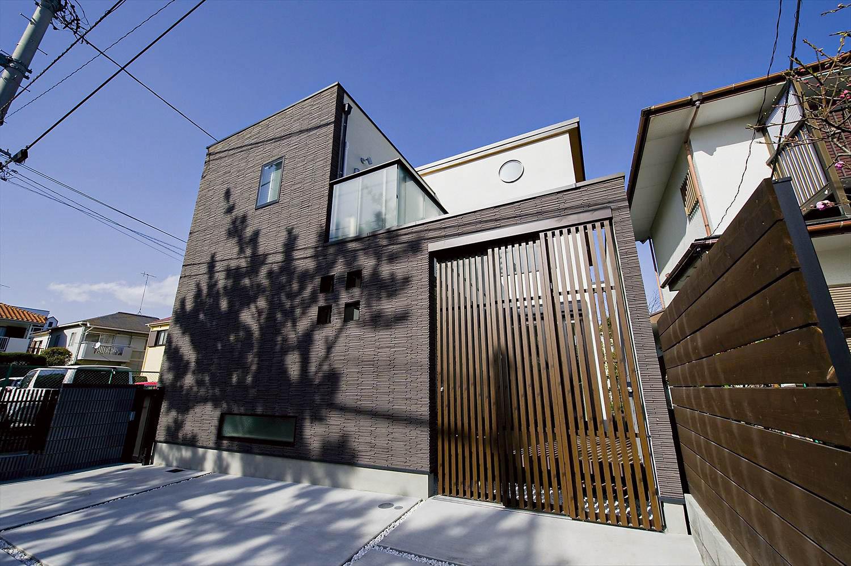 アジアンテイストの家